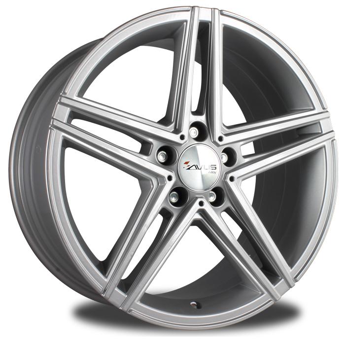 avus ac 515 18 hyper silver dan wheels. Black Bedroom Furniture Sets. Home Design Ideas